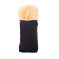High quality fashional infant sheepskin footmuff