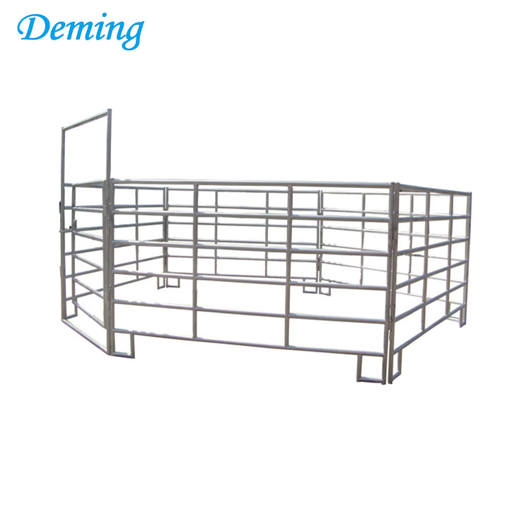 portable cattle rail horse pens pan fence panels