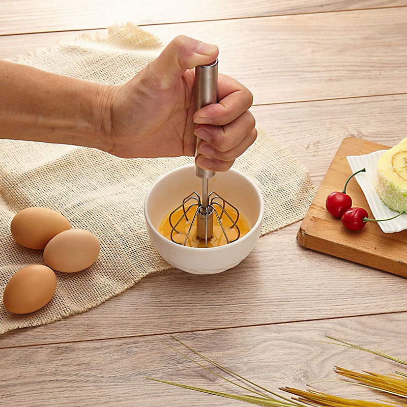 High-End Stainless steel egg beater