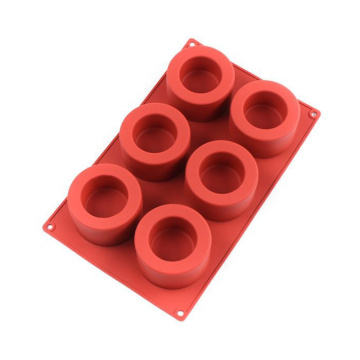 6 Cavity Round Silicone Mold