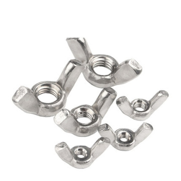 WING NUTS DIN315  Rounded Wings