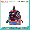 rainbow color laser backpack