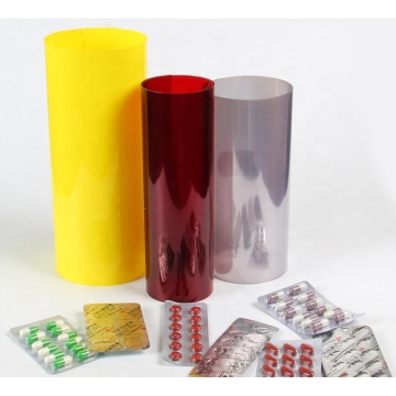Medicine grade blister packaging rigid transparent pvc film