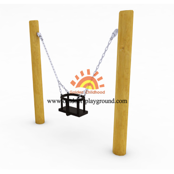 Kids Backyard Playground Wooden Swing Sets