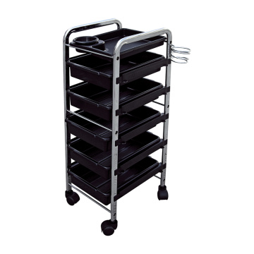 6 Tier Salon Rolling Trolley Cart