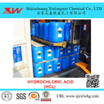 Hydrochloric Acid HCL Industry Use in Gold Mining