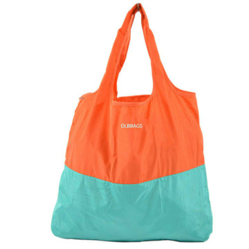 Fashion Custom Reusable Polyester Foldable Shopping Bag