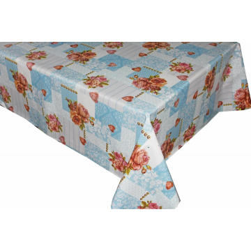 Elegant Tablecloth with Non woven backing for Office