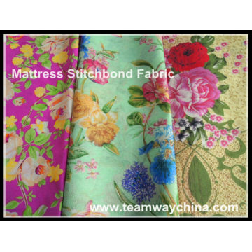 Printing Stitchbond Nonwoven Fabric Used on Mattress