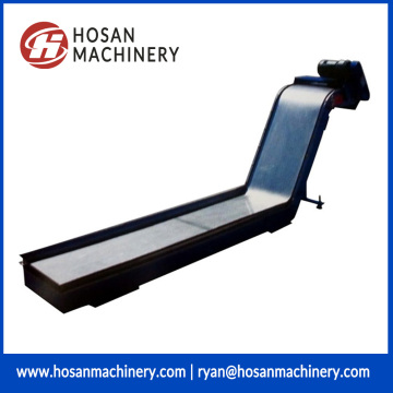 Strong magnetic chip conveyor excluding cnc milling machine