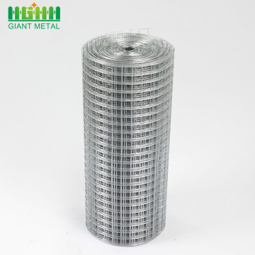 Galvanized and PVC Coated Welded Wire Mesh Rolls