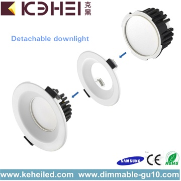9W Halogen Downlights With CE RoHS 6000K AC110V