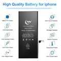 Lithium polymer iphone 8 battery pack