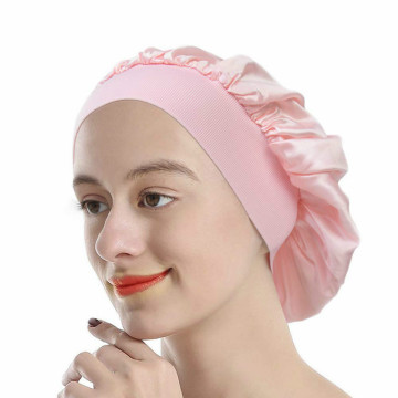 Silk Sleeping Traceless Half Elastic Flat Night Cap
