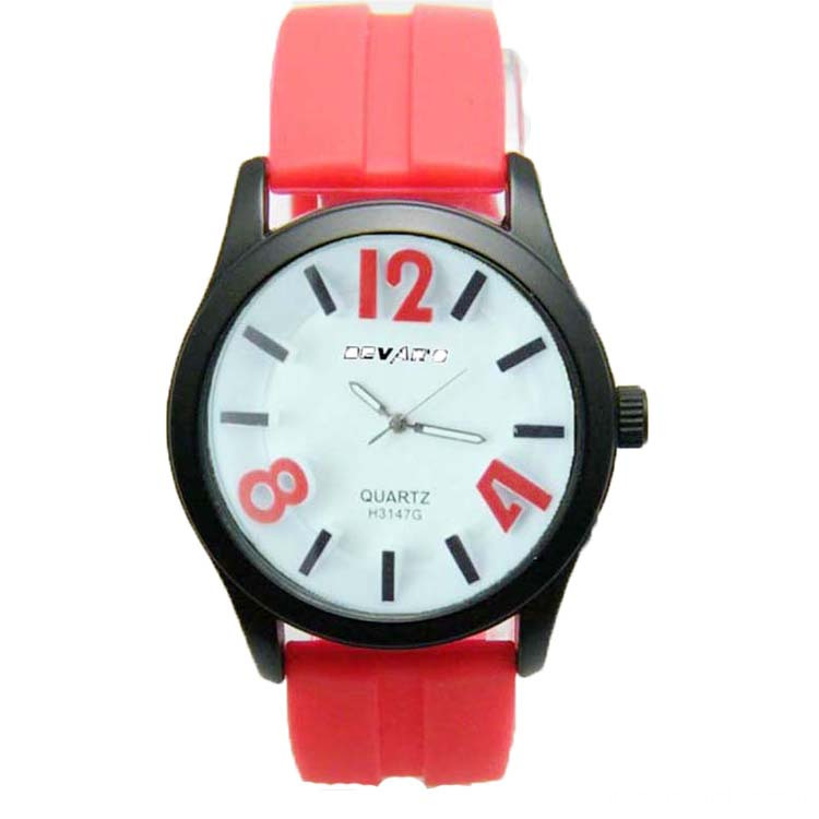 Hot Sale Popular Students Silicone Wrist Watch