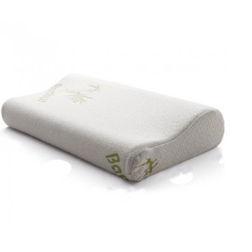 Quality memory foam pillow bamboo for side sleepers