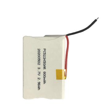 523450 3.7V 800mAh Li-ion Battery for POS Machine