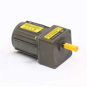AC 6W-370W 110V/220V/380V High Torque Motor with Gearbox