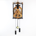 Retro Skeleton Hollowed-out Gear Wall Clock