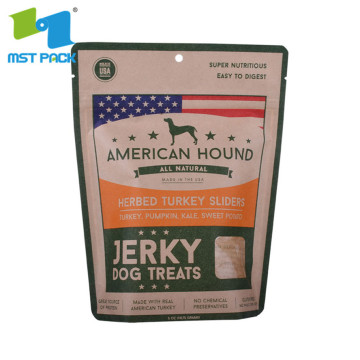 wet animal feed packaging bags for organic foods