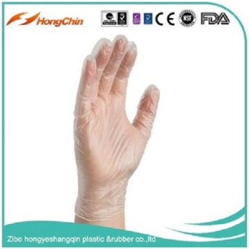 AQL2.5 disposable lightly powdered gloves for food
