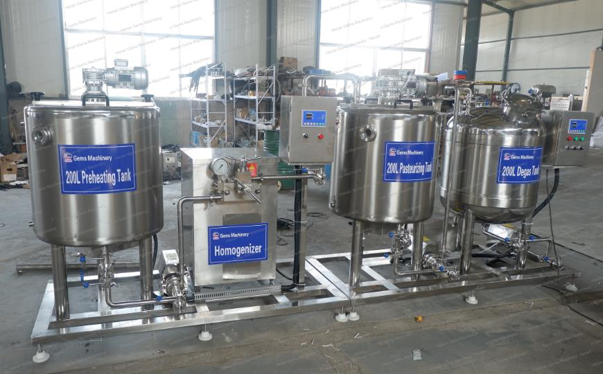 Soy Milk Yogurt Production Line