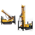 Drilling crawler telescopic tower well drilling rig