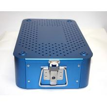Aluminum sterilization tray case box surgical instrument