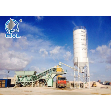 HZS Serial 60kw Concrete Production Plant