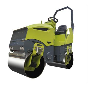 Asphalt mini steel vibratory road roller price