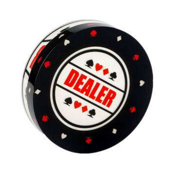 Wholesale Custom Design Acrylic Casino Button
