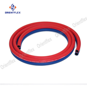 flexible twin welding argon gas hose