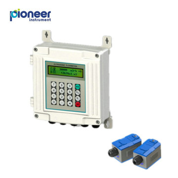Wall Mounting Clamp On Ultrasonic Transducer Flow Meter