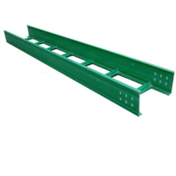 Heavy duty fiberglass ladder type perforated cable tray