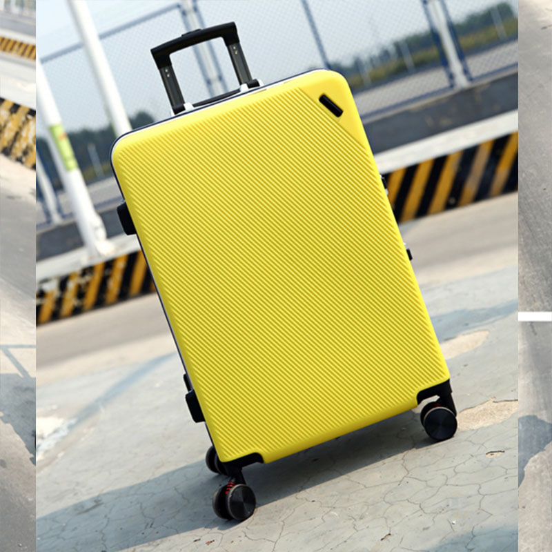 Yellow luggage