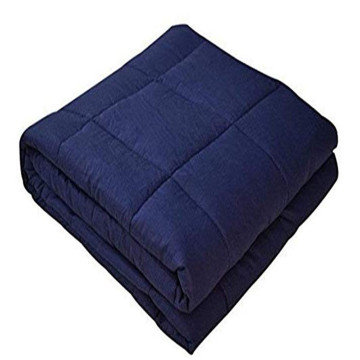 60 * 80 '' inch 12lbs weighted blanket 100% cotton