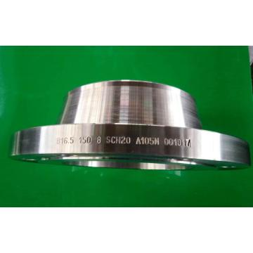 Hot carbon steel weld neck flange