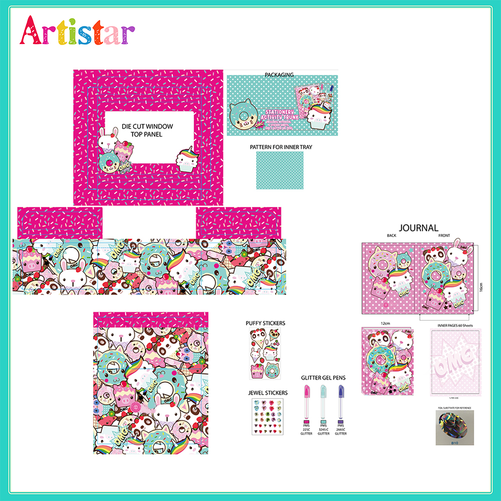 Cute Stationery Activity Trunk 2