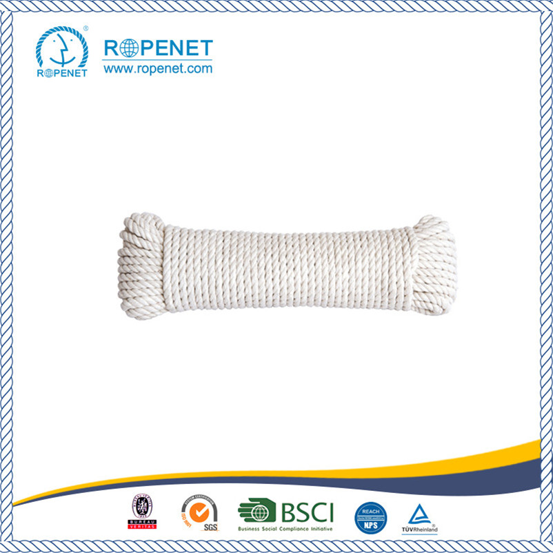 "Good Quality 2"" Thick Cotton Rope for OEM Customized"
