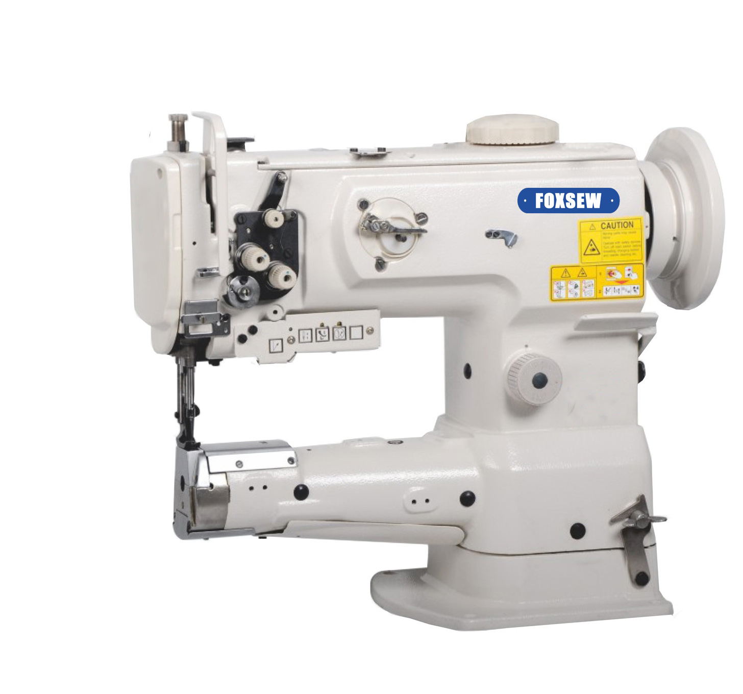 KD-1341 Single Needle Cylinder Bed Unison Feed Lockstitch Sewing Machine with Vertical-Axis Hook