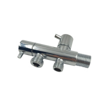 New product Double-handle dual-use three-way bathroom kitchen angle valve