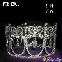 Full Round Crowns Pageant Tiara