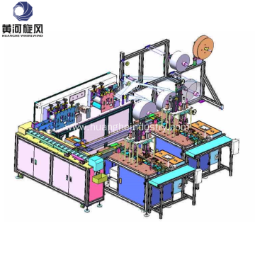 Face Mask Making Producing Line