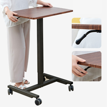 Adjustable Height Side Table