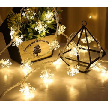 Christmas Decorative LED lights string Snowflake