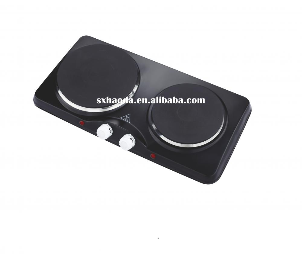 Electric Hot Plate Double Burner