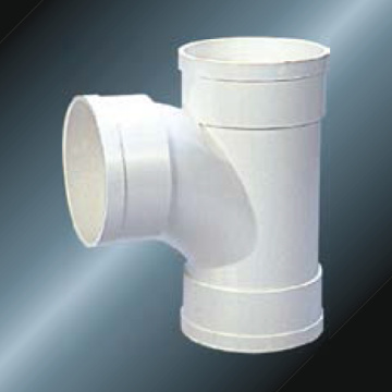 Din Drainage Upvc Tee Grey Color