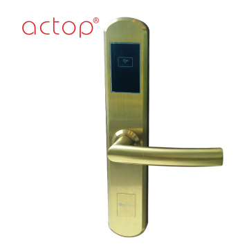 stainless steel rfid door lock  with smart control system