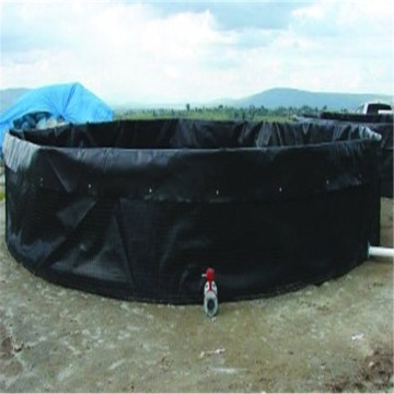 Black Rolling ASTM 0.5mm Aquaculture Shrimp Pond Liner