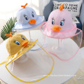Yellow Duck Anti-droplet Hat for Children